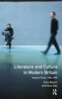 Image for Literature and Culture in Modern Britain : Volume Three: 1956 - 1999