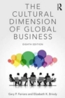 Image for The cultural dimension of global business