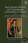 Image for Early modern women and transnational communities of letters