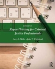 Image for Report writing for criminal justice professionals