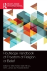 Image for Routledge handbook of freedom of religion or belief