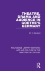 Image for Theatre, drama and audience in Goethe's Germany
