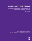Image for Making culture visible  : the public display of photography at fairs, expositions and exhibitions in the United States, 1847-1900