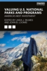 Image for Valuing U.S. National Parks and Programs : America's Best Investment