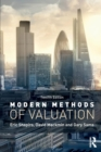 Image for Modern methods of valuation