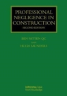 Image for Professional negligence in construction