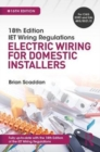 Image for IET wiring regulations  : electric wiring for domestic installers
