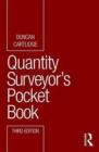 Image for Quantity surveyor's pocket book