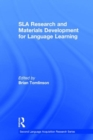 Image for SLA research and materials development for language learning