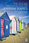 Image for The social psychology of everyday politics