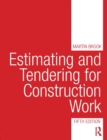 Image for Estimating and tendering for construction work