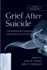 Image for Grief After Suicide : Understanding the Consequences and Caring for the Survivors