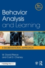 Image for Behavior analysis and learning  : a biobehavioral approach