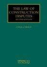 Image for The law of construction disputes