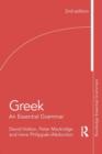 Image for Greek  : an essential grammar