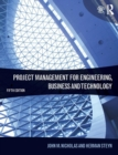 Image for Project management for engineering, business and technology