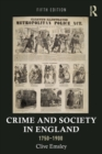 Image for Crime and society in England, 1750-1900