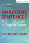 Image for Analysing sentences  : an introduction to English syntax