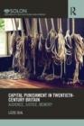 Image for Capital punishment in twentieth-century Britain  : audience, justice, memory