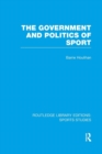 Image for The government and politics of sport