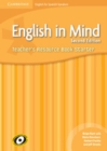 Image for English in Mind for Spanish Speakers Starter Level Teacher's Resource Book