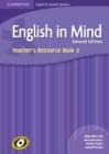 Image for English in Mind for Spanish Speakers Level 3 Teacher's Resource Book