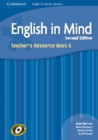 Image for English in Mind for Spanish Speakers Level 5 Teacher's Resource Book