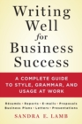 Image for Writing well for business success