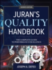 Image for Juran's quality handbook  : the complete guide to performance excellence