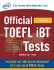 Image for Official TOEFL iBT Tests Volume 1, Third Edition