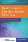 Image for Health sciences literature review made easy  : the matrix method