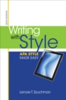 Image for Writing with style  : APA style made easy