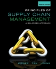 Image for Principles of supply chain management  : a balanced approach