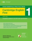 Image for Cambridge first practice test 1 with key