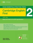 Image for Cambridge first practice test 2 without key