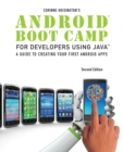 Image for Android boot camp for developers using Java, comprehensive