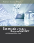 Image for Essentials of modern business statistics with Microsoft Excel