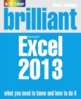 Image for Brilliant Microsoft Excel 2013