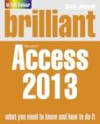 Image for Brilliant Microsoft  Access 2013