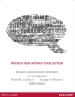 Image for Human communication disorders  : an introduction