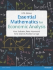 Image for Essential mathematics for economic analysis