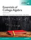 Image for Essentials of college algebra