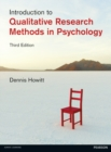 Image for Introduction to qualitative methods in psychology