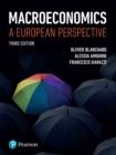 Image for Macroeconomics: a European perspective