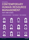 Image for Contemporary human resource management  : text and cases