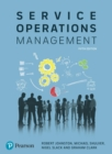 Image for Service Operations Management: Improving Service Delivery