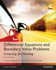 Image for Differential equations and boundary value problems  : computing and modeling