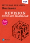 Image for Revise AQA A level business: Revision guide and workbook