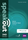 Image for Speakout Starter 2nd Edition Students' Book with DVD-ROM and MyEnglishLab Access Code Pack