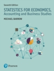 Image for Statistics for economics, accounting and business studies